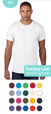 TearAway T-Shirt 980 bedrucken